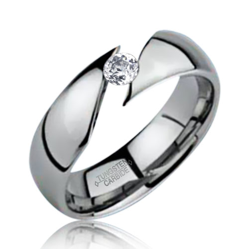 How to break tungsten carbide ring